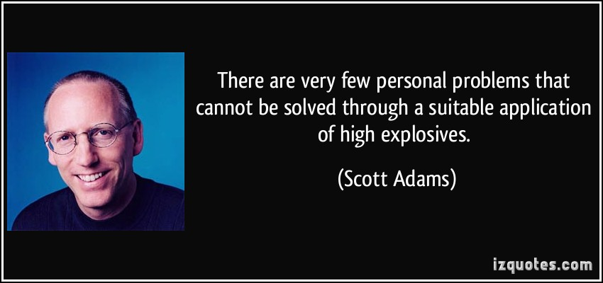 Explosives quote #1