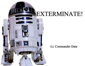 Exterminate quote #1