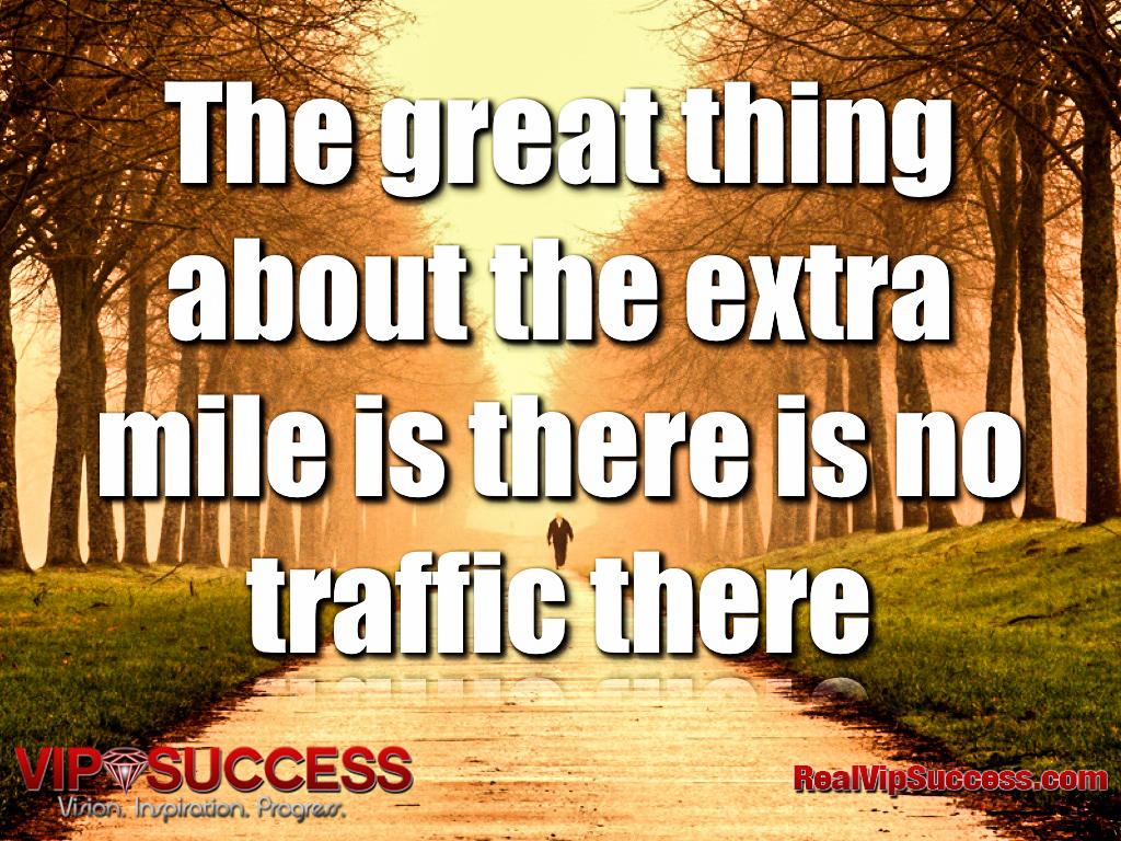 Extra Mile quote #1