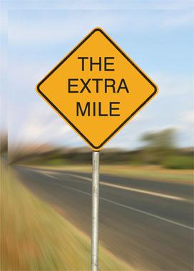 Extra Mile quote #2