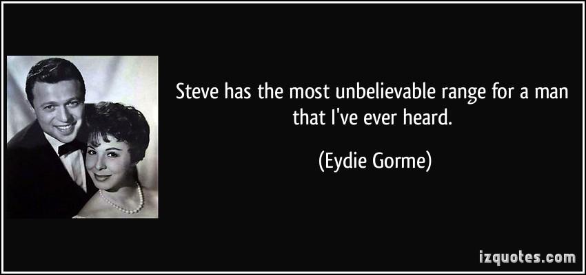 Eydie Gorme's quote #1