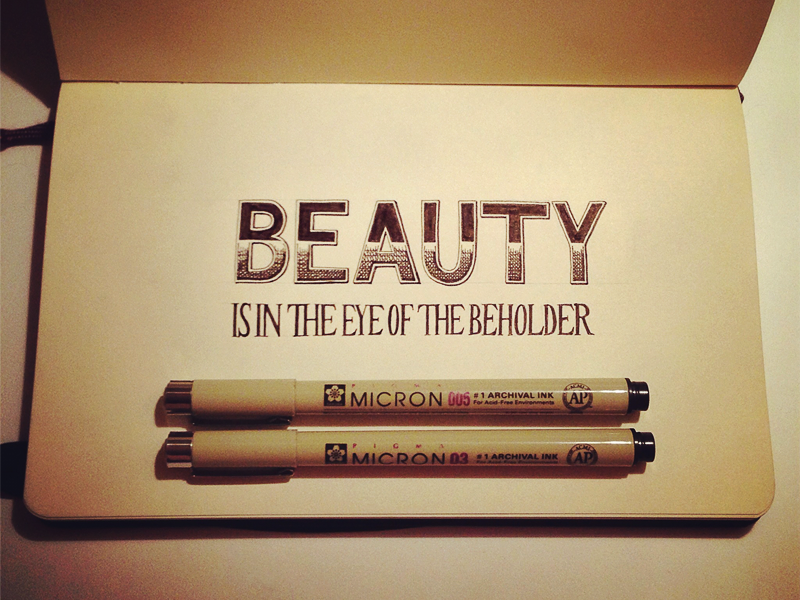 beauty in the eyes of the beholder essay