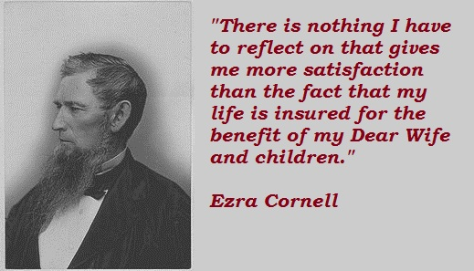 Ezra Cornell's quote #1