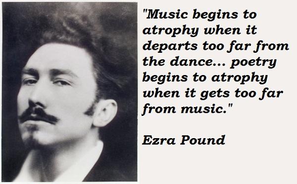 Ezra Pound's quote