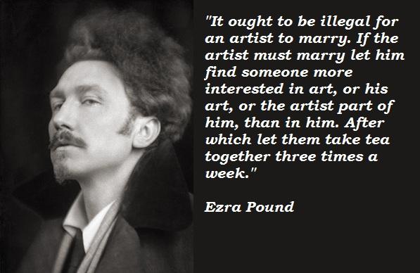 Ezra Pound's quote #2