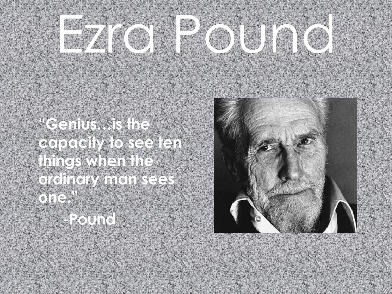 Ezra Pound's quote #3