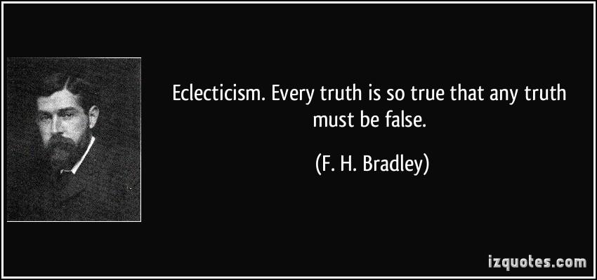 F. H. Bradley's quote