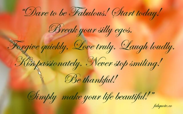 Fabulous quote #6