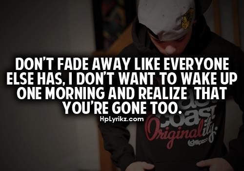 Fading quote #1