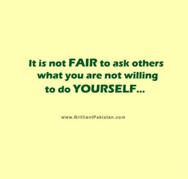 Fair quote #7