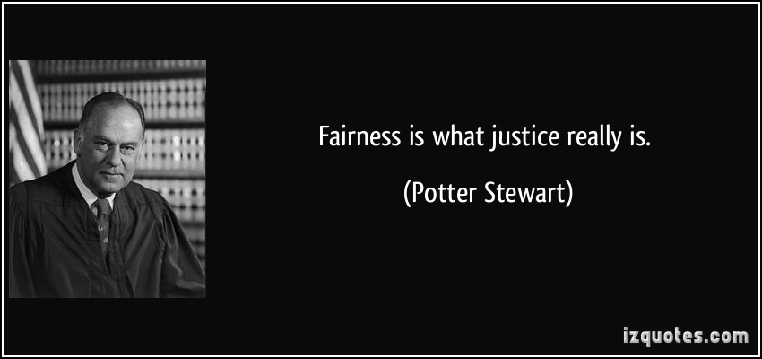 Fairness quote #6