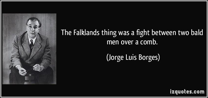 Falklands quote