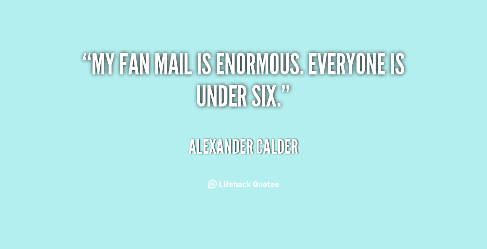 Fan Mail quote #2