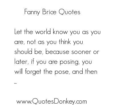 Fanny Brice's quote #1