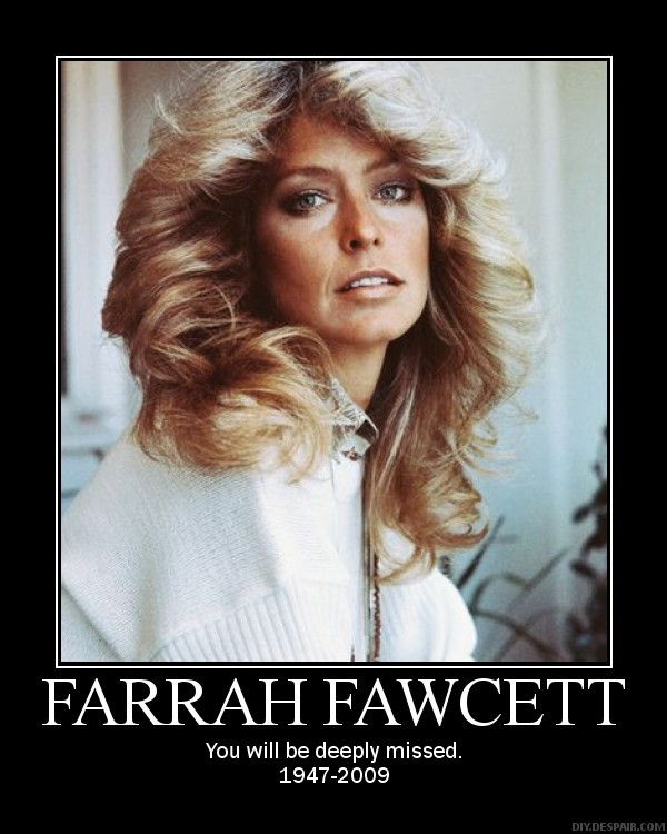 Farrah Fawcett's quote #2