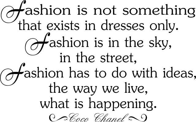 Famous Quotes About Fashion Designer Sualci Quotes 2019