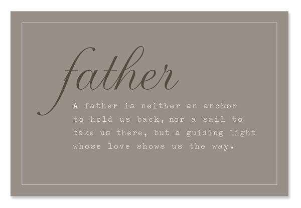 Fatherhood quote #1