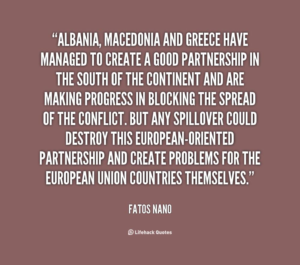 Fatos Nano's quote #7