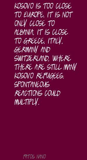 Fatos Nano's quote #2