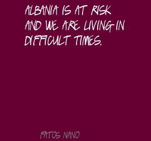 Fatos Nano's quote #1