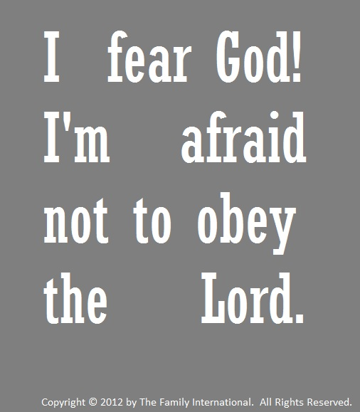 Fear God quote #2