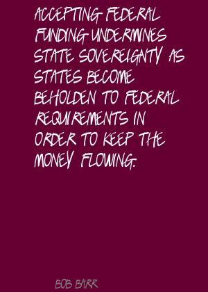 Federal Funding quote #2