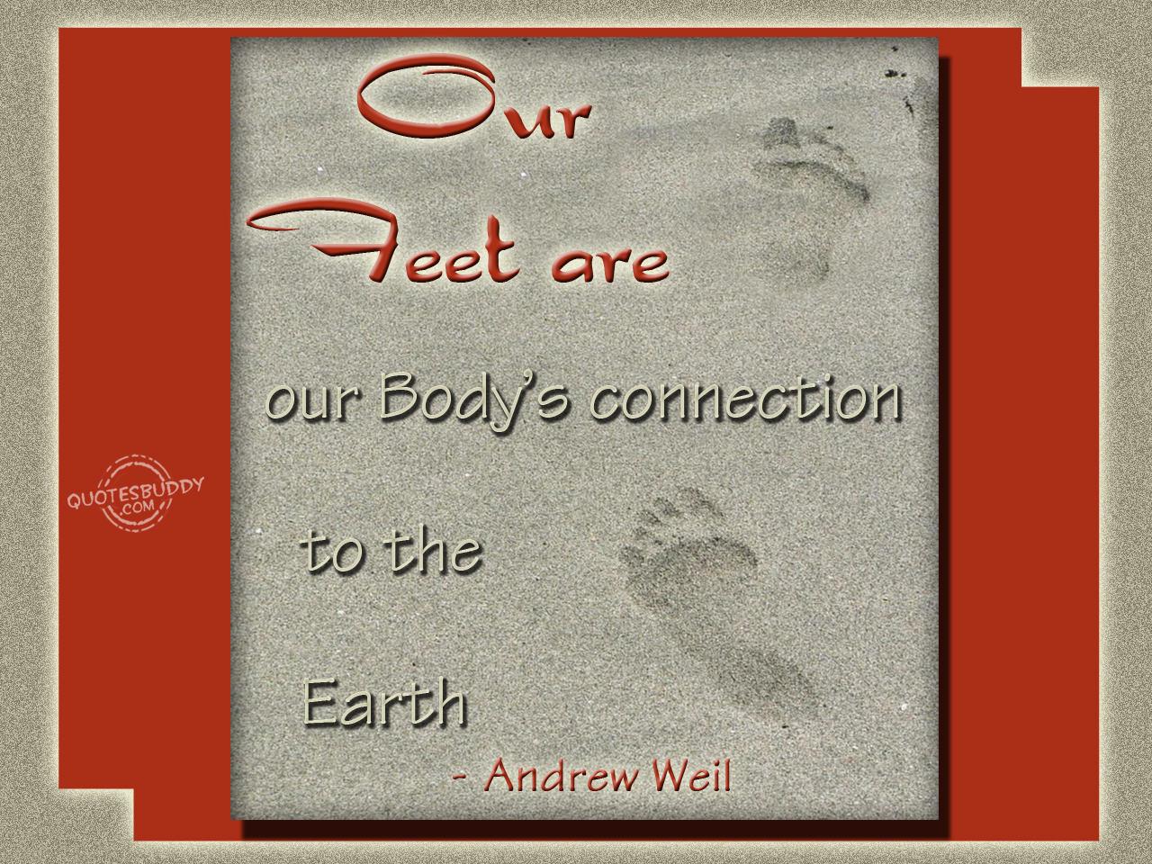 Feet quote #2