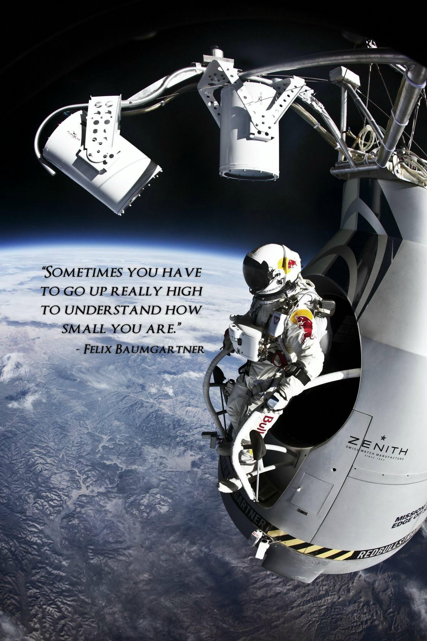 Felix Baumgartner's quote #1