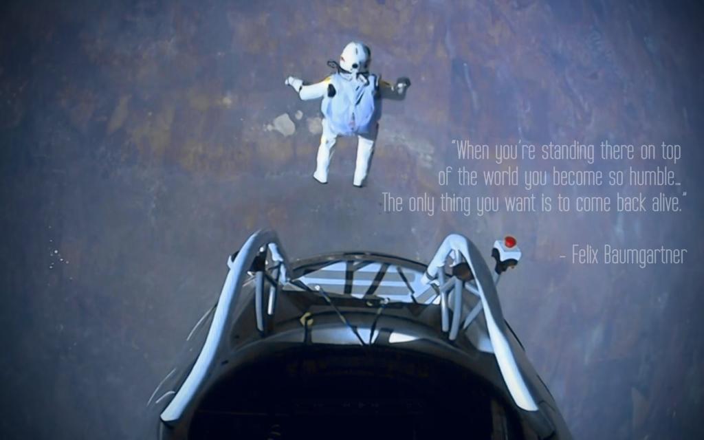 Felix Baumgartner's quote #6