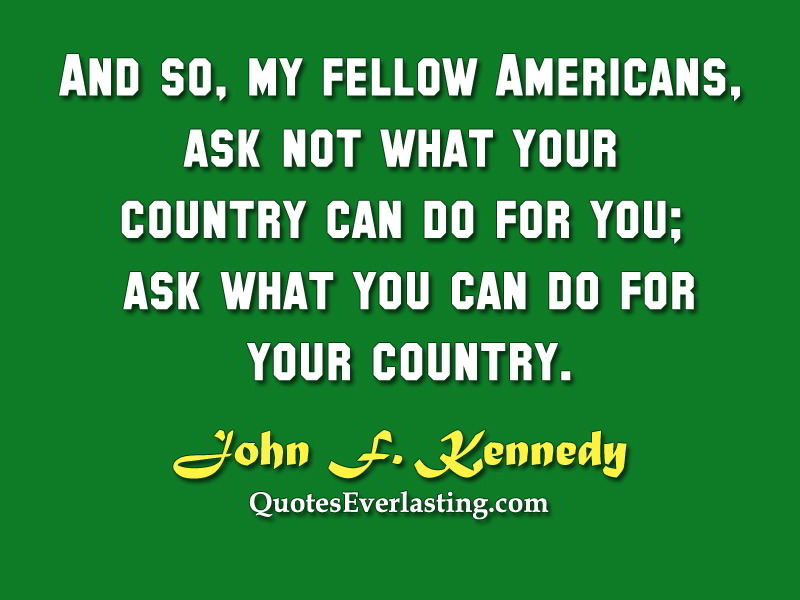 Fellow Americans quote