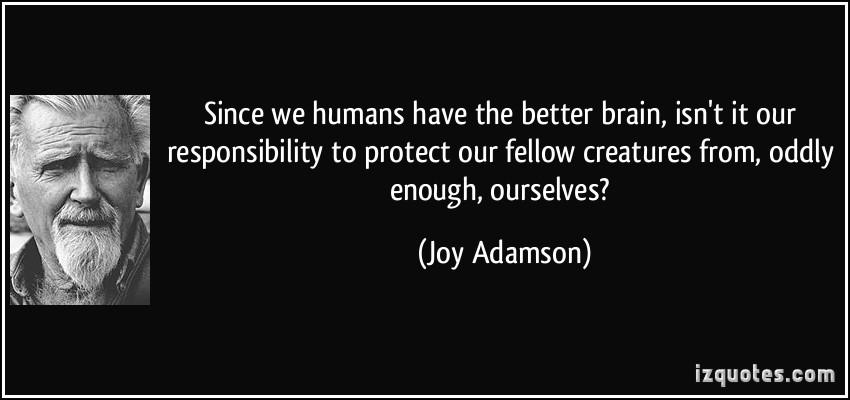Fellow Creatures quote #2