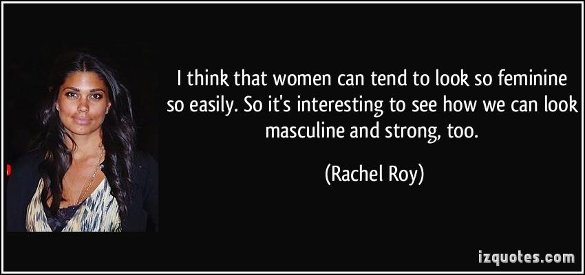 Feminine quote #3