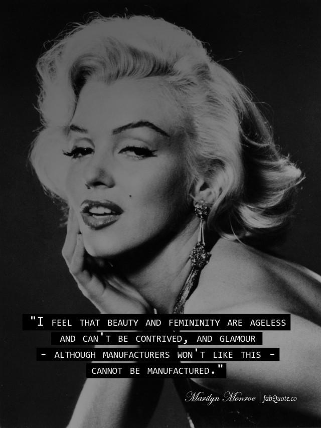 Femininity quote #1