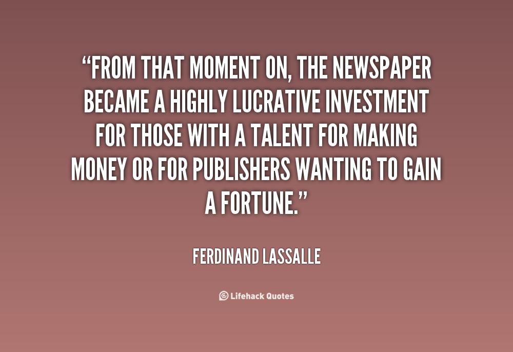 Ferdinand Lassalle's quote #1