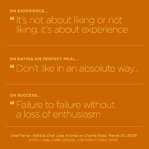 Ferran Adria's quote #3