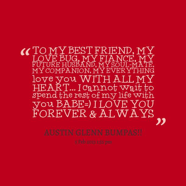 Fiancee quote #2