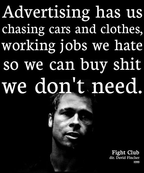 Fight Club quote #2