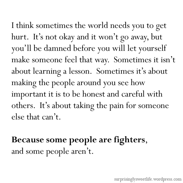 Fighters quote #7