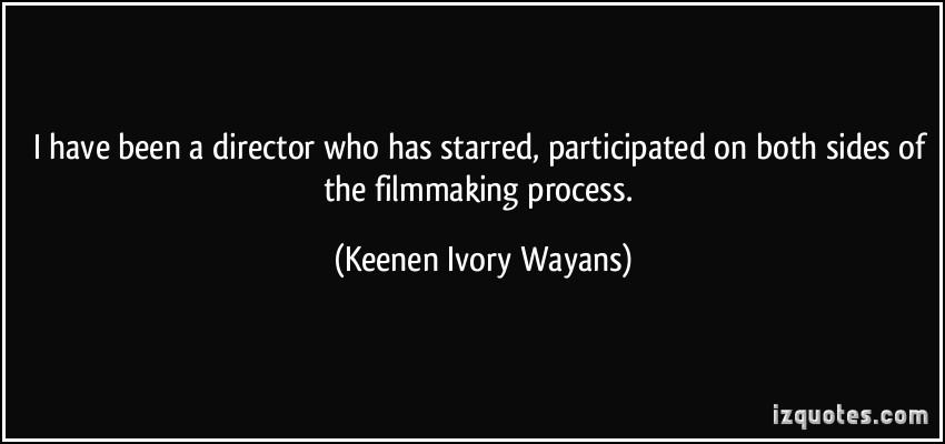 Filmmaking Process quote
