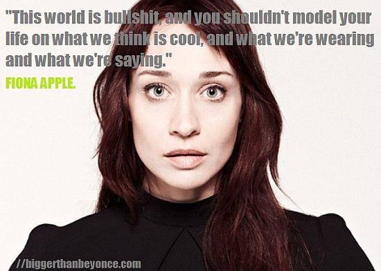 Fiona Apple's quote #7