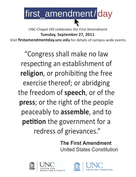 First Amendment quote #1