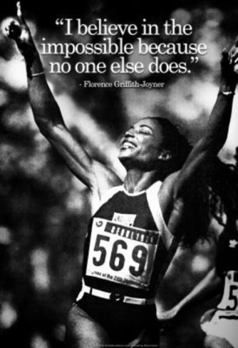Florence Griffith Joyner's quote #4