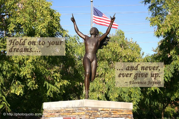 Florence Griffith Joyner's quote #3