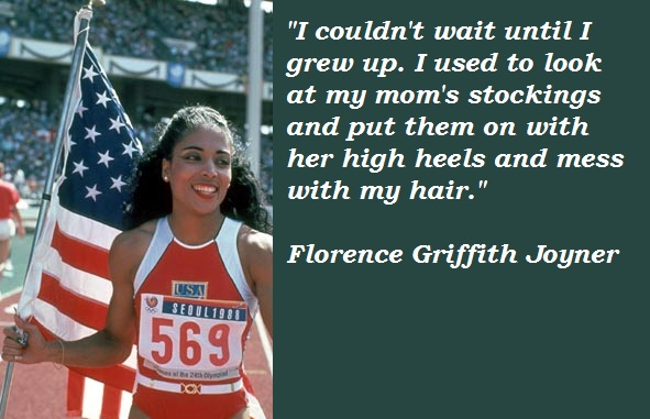 Florence Griffith Joyner's quote #2