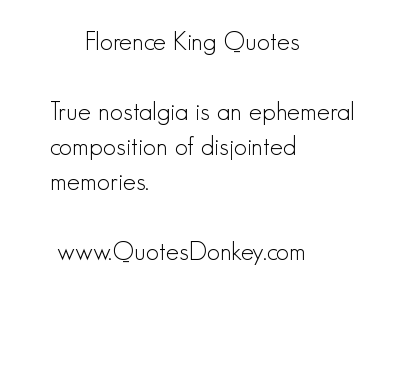 Florence King's quote #3