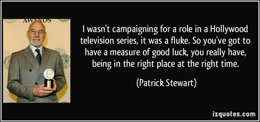 Fluke quote #1