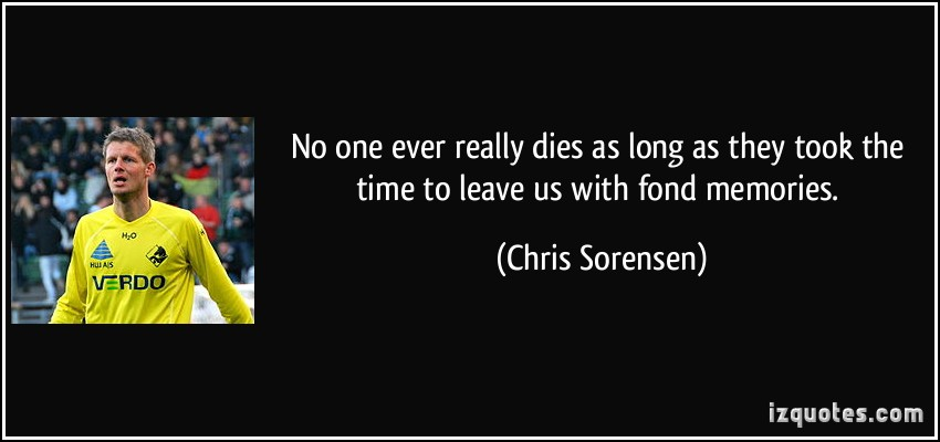 Fond Memories quote #1