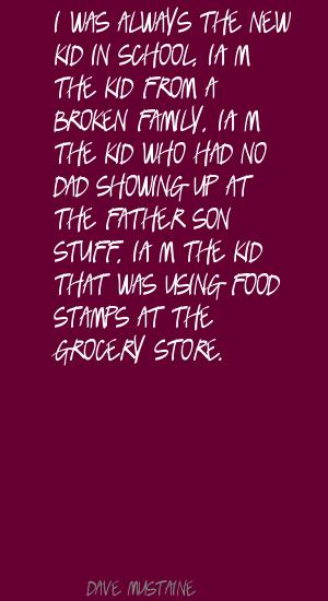 Food Stamps quote #2