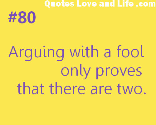 Fools quote #3