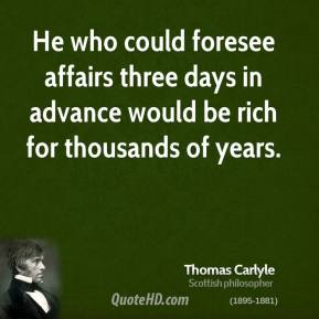 Foresee quote